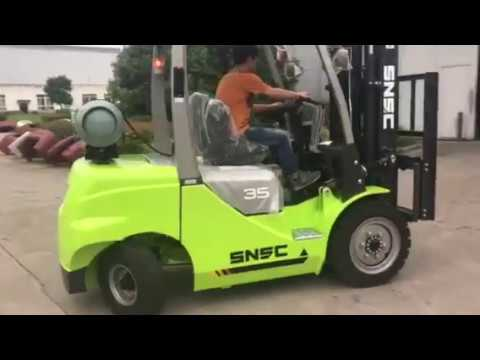 3.5 ton lpg gas forklift  to Paraguay  from sheri