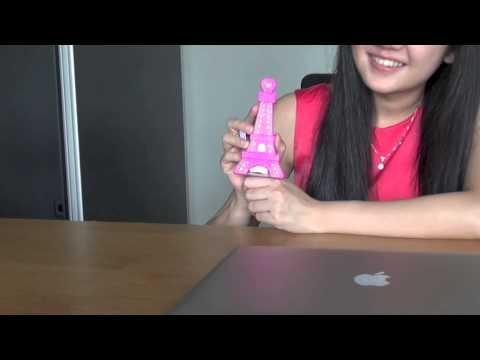 Bath Body Works Pocketbac Holder Eiffel Light Up Youtube