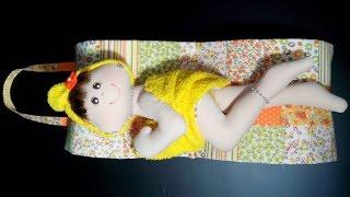 Porta-rolos de papel higiênico com boneca parte 1