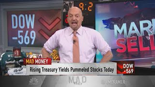Jim Cramer says these six factors are driving the stock market sell-off