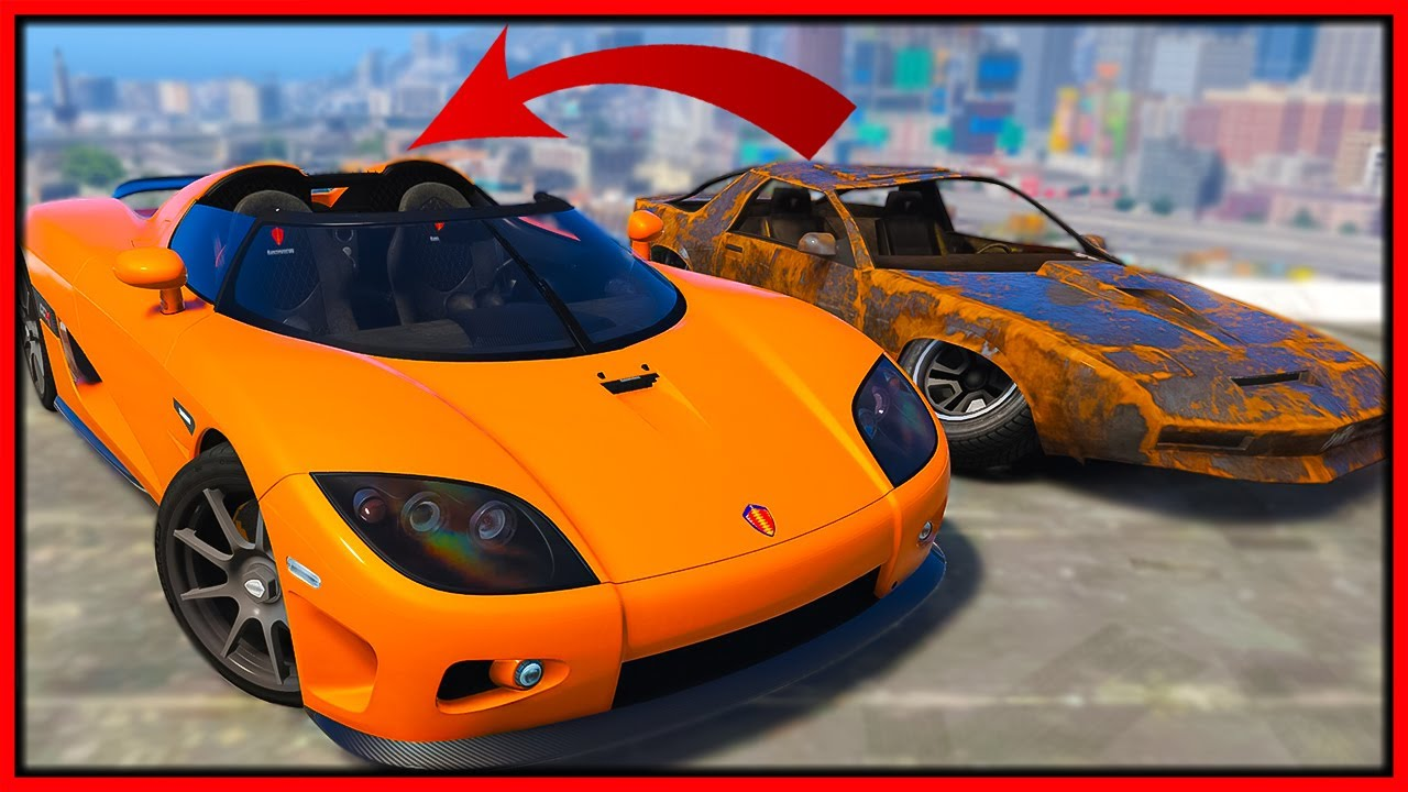 GTA 5 Roleplay - I traded rusty junkyard car for expensive supercar | RedlineRP