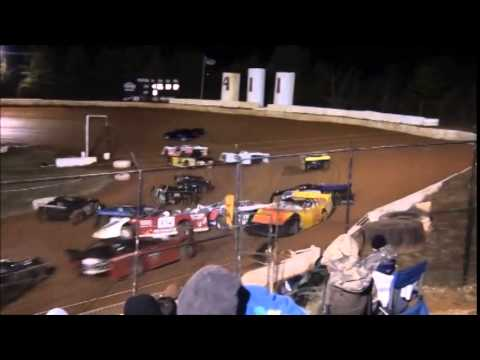WOW! Wreck of the Week from 411 Motor Speedway 1/1/15.