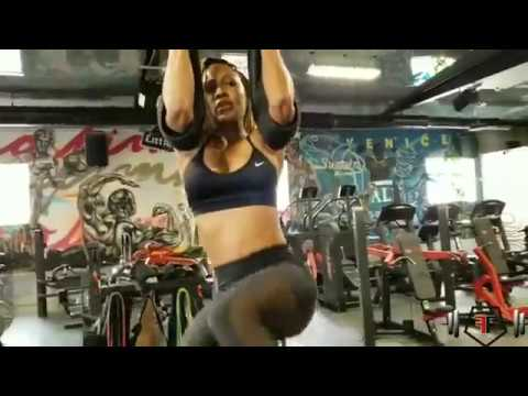 Meagan Good working out Nov. 15