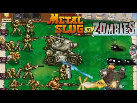 Metal Slug Soldiers vs. Zombies - Ultimate Edition   Fangame Animation  
