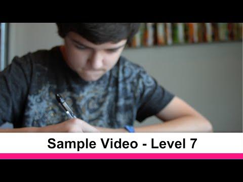 Essentials in Writing Level 7 Sample