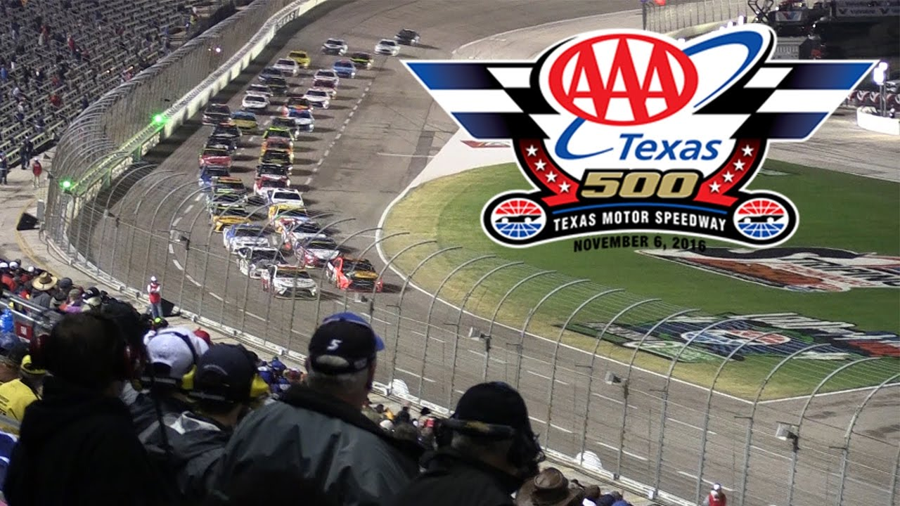 2016 aaa texas 500 at texas motor speedway youtube for Nascar tickets for texas motor speedway