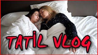 24 SAAT TATİL RUTİNİM   Tatilde Günlük Vlog !