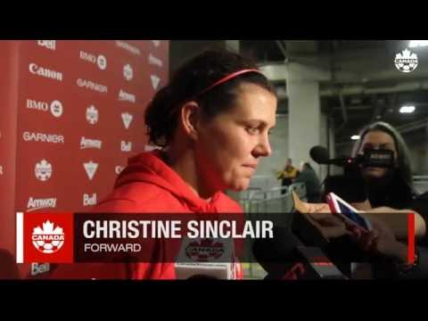 CANWNT: Canada 2-3 Japan, Christine Sinclair