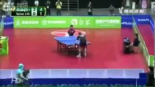 Pertandingan tenis meja paling lucu dan keren