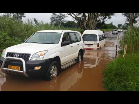 Trapped in Harare Floods