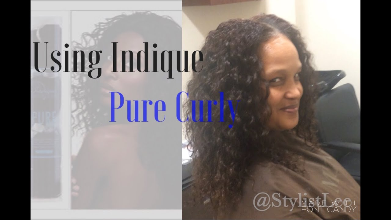 Full Weave Using Indique Curly Hair Extensions Los Angeles Hair