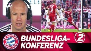 Bundesliga-Konferenz #2: Robben, Wagner & Co. kommentieren ihr Spiel