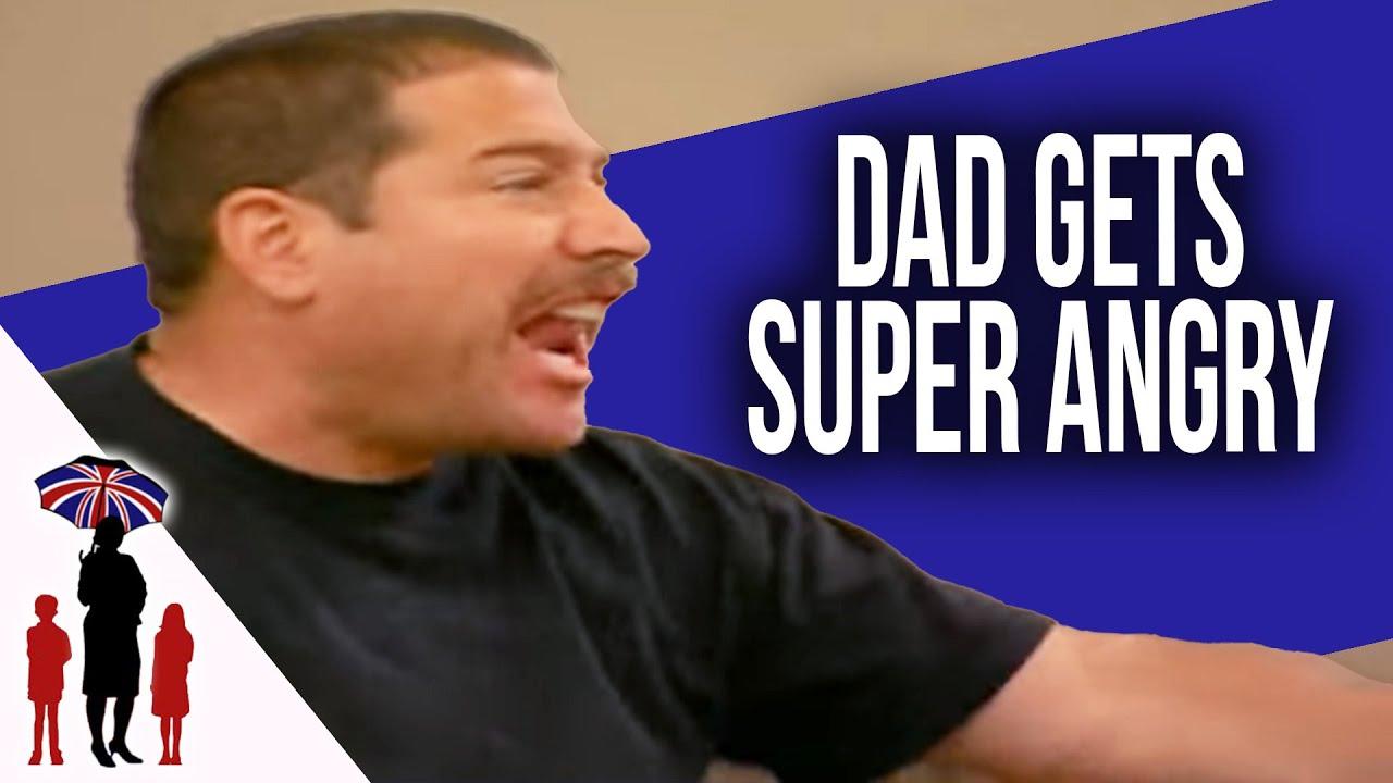 Fireman Dad's Anger Rubs Off On Kids | Supernanny