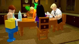 The Incredibles Office Scene and Family Dinner