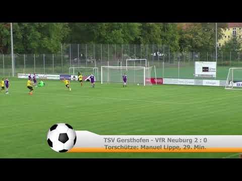 Bezirksliga Nord: TSV Gersthofen - VfR Neuburg