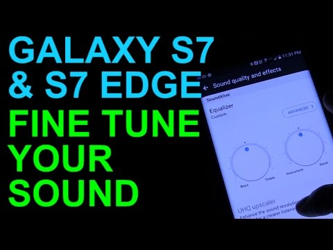 Galaxy S7 And Edge Fine Tune Your Sound With The Equalizer Tips And Tricks Youtube
