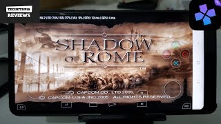 Shadow of Rome DamonPS2 Pro PS2 Games on smartphones/Android/New emulator for PS2 Console