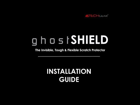 TECHGEAR GhostSHIELD Screen Protector Installation Guide For The Apple IPhone 8