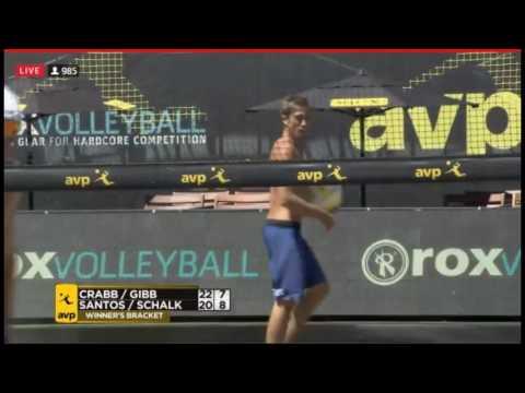 AVP  Beachvolley-Crabb T/Gibb vs.Ricardo/Schalk-AVP Seattle Open 2017