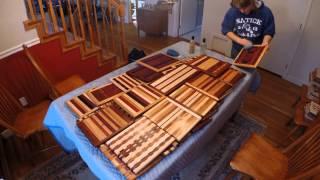 Cutting Board Oiling