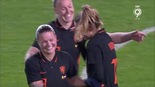 Belgium - The Netherlands (oranjeleeuwinnen) || International friendly || 18-02-2021 || SECOND HALF