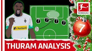 Marcus Thuram Tactical Profile - Powered By Tifo Football | Bundesliga 2019 Advent Calendar 7