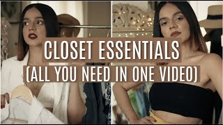 Secret To ALLLL My Outfits!(CLOSET ESSENTIALS)| Komal Pandey
