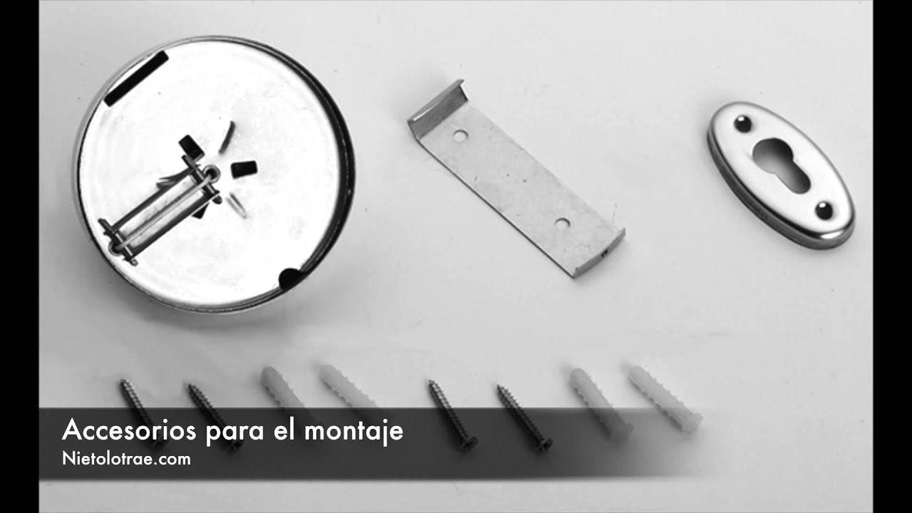 Tendedero de Ropa Retractil - YouTube