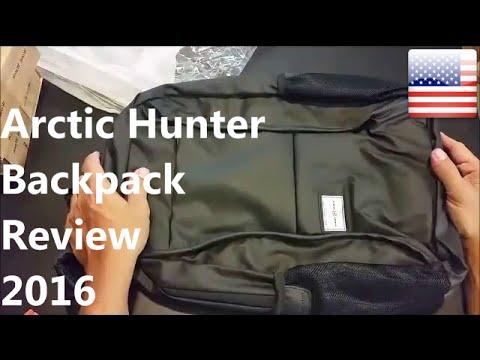 Arctic Hunter Backpack Review 2016/2017 Water-resistant Laptop Anti Sweat Backpack