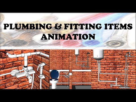Plumbing & Fittings Detailed Animation Study | PART- I | #CIVILGURUJI