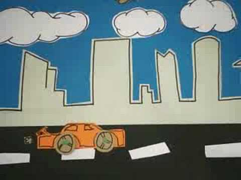 STOP POLLUTION! First Timer STOPMOTION BY cutting out PAPER