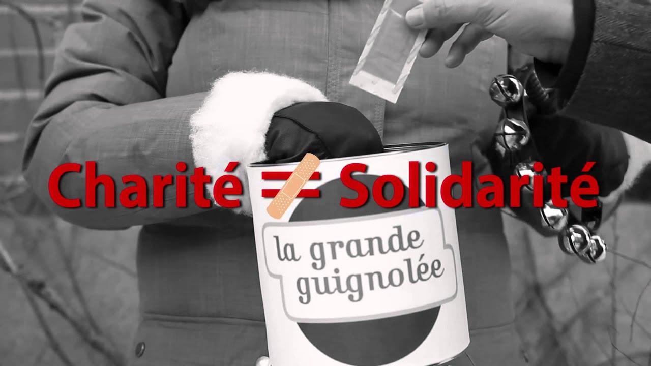 Charité ≠ Solidarité - YouTube