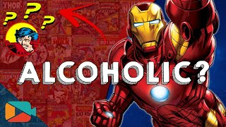 Editorial: Tony Stark, Alcoholism, Anxiety and PTSD [Demon in a Bottle] [Iron Man 3]