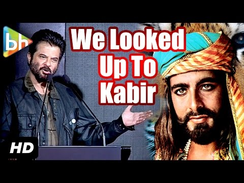 We Looked Up To Kabir Bedi's Personality, Voice Says Anil Kapoor