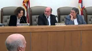 Franklin Board of County Commissioners Meeting February 19th 2013 Comm. Lockley's Failed Motion