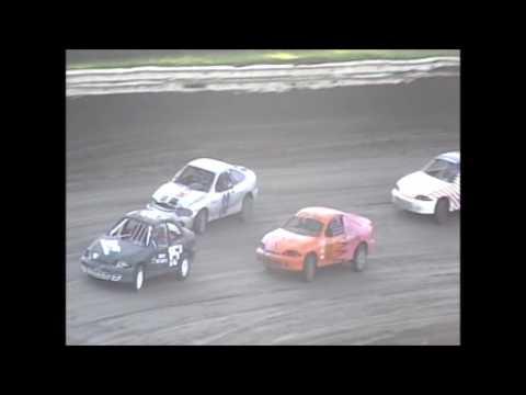 Eagle Raceway Sport Compact Heat 1 on 7-30-16