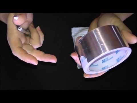 Алюминиевая и каптоновая ленты