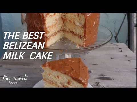 Belizean Milk Cake
