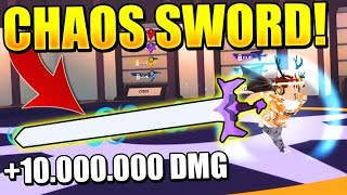 LEGENDARY CHAOS SWORD IN NINJA WIZARD SIMULATOR! Roblox