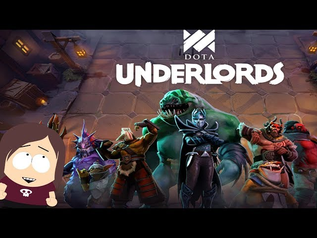 Playing Dota Underlords || Full Game