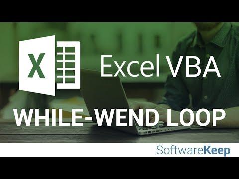 VBA While Wend Loop - VBA Excel Tutorial