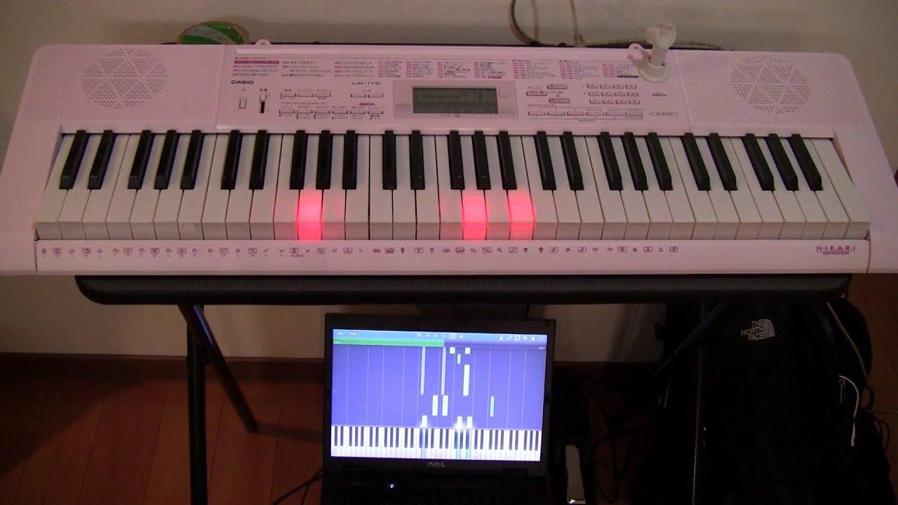 FFXザナルカンドにてピアノコレクションをカシオLK-115にて - YouTube