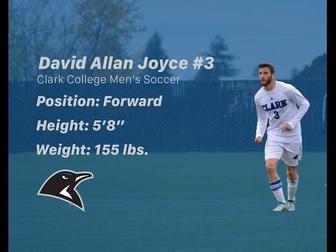 David Allan Joyce Clark College 2016 Highlight Video