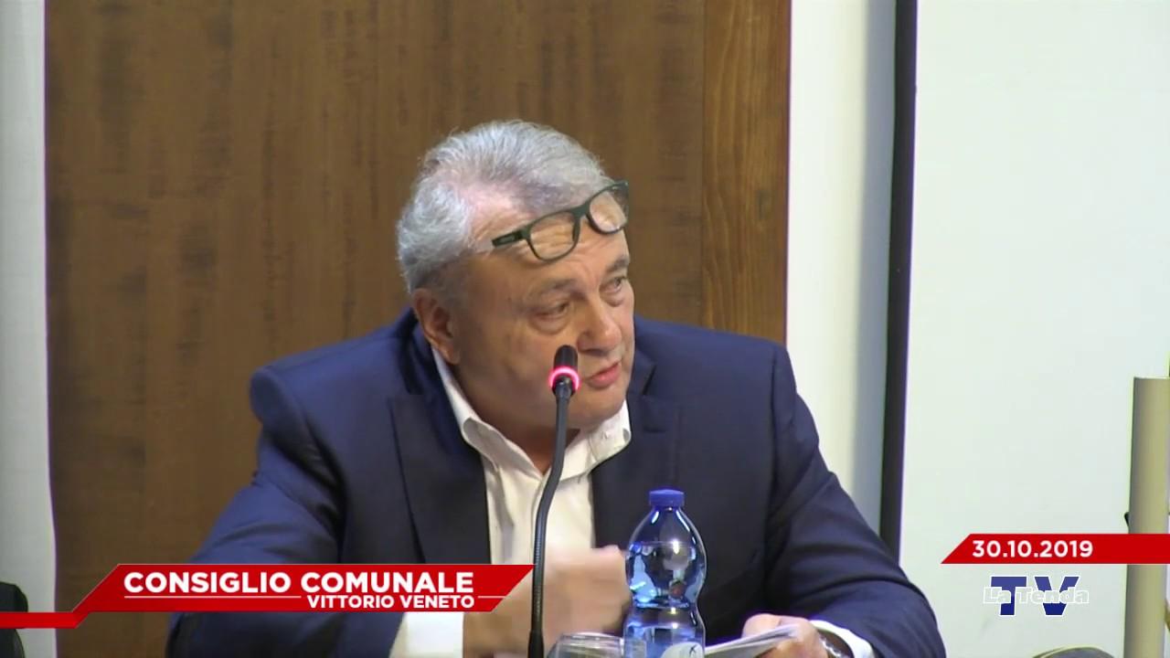 CONSIGLIO COMUNALE VITTORIO VENETO - Seduta del 30.10.2019