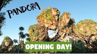 PANDORA - THE WORLD OF AVATAR OPENING DAY! | Disney Vlog 2017