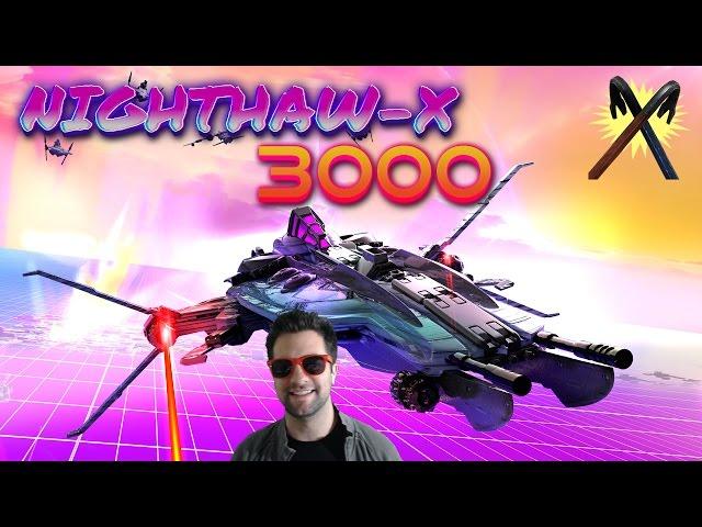 Nighthaw-X3000 - 80's Arcade Action!