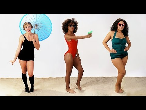 Thumbnail: Women's Swimsuits Through History