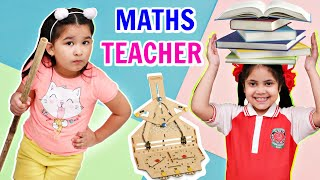 Kids PRETEND Play Learning Maths in Fun with Toys - GOOD vs BAD | ToyStars