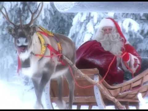 Lapponia Casa Di Babbo Natale Video.Casa Di Babbo Natale In Lapponia Video Per I Bambini Rovaniemi Finlandia Santa Claus Polo Nord