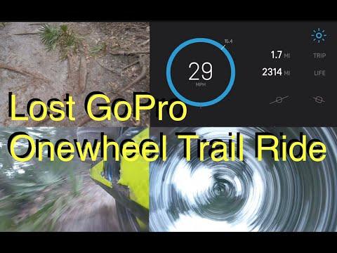 Lost GoPro On Onewheel Trail Ride
